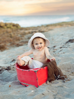 Jupiter Beach Child Photography - Palm Beach Child Photographer