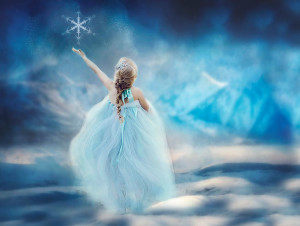 Frozen Inspired Photography - Jupiter Florida Sea Flowers Photography