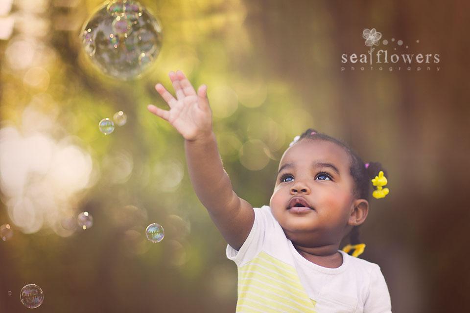 Jupiter Florida Child Photography 1st Birthday - Cake Watermelon Smash - Sea Flowers photography