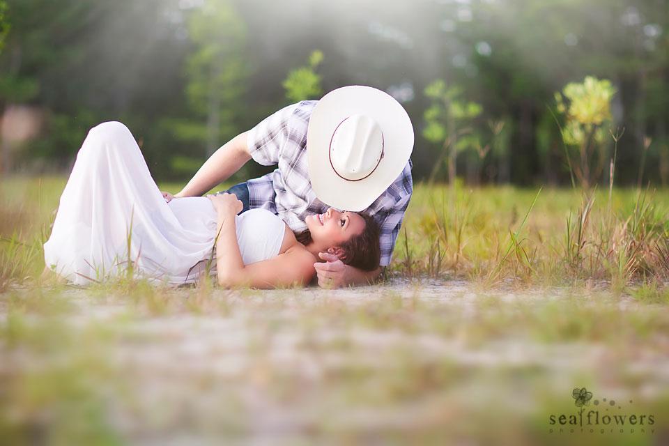 Jupiter Florida Sunrise Woods Maternity Photography - Sea Flowers Photography