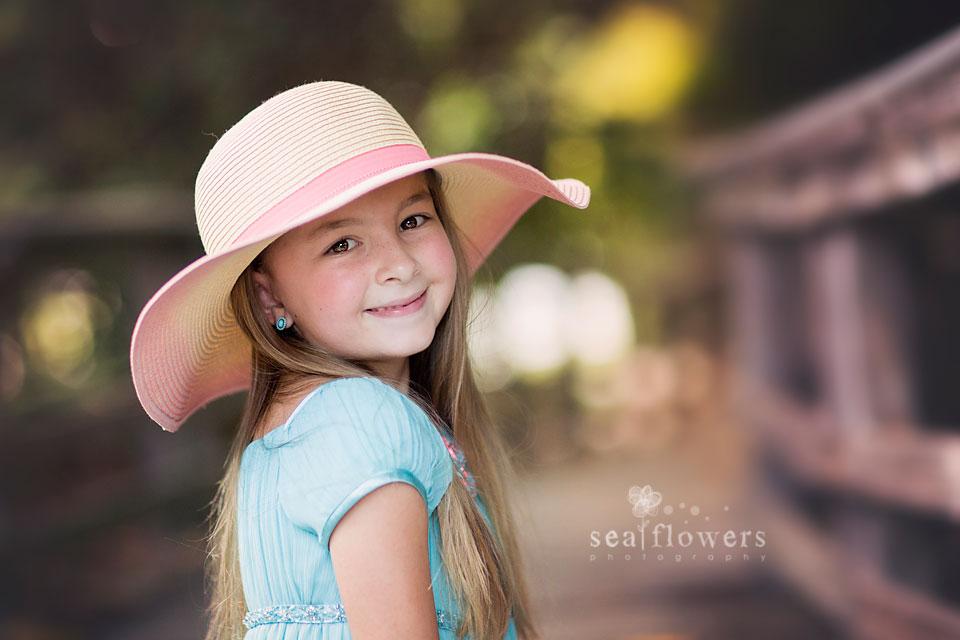 Jupiter Island Child / Children Beach Photography - Sea Flowers Photography