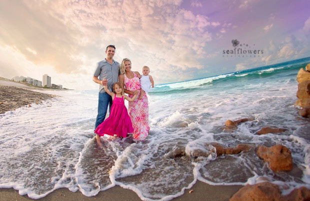 Jupiter Island  South Florida Coral Cove Family and Child Beach Photography - Sea Flowers Photography