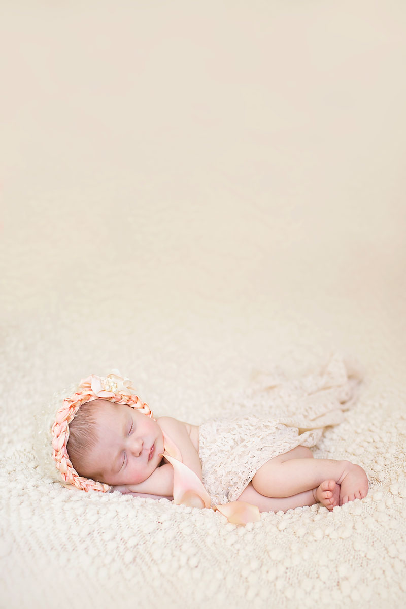 Jupiter Florida Newborn Photography Sea Flowers Photography