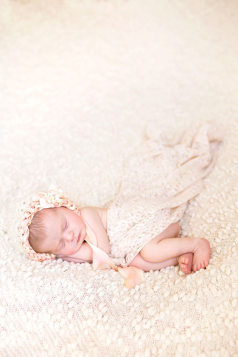 Jupiter Florida Newborn Photography Sea Flowers Photography