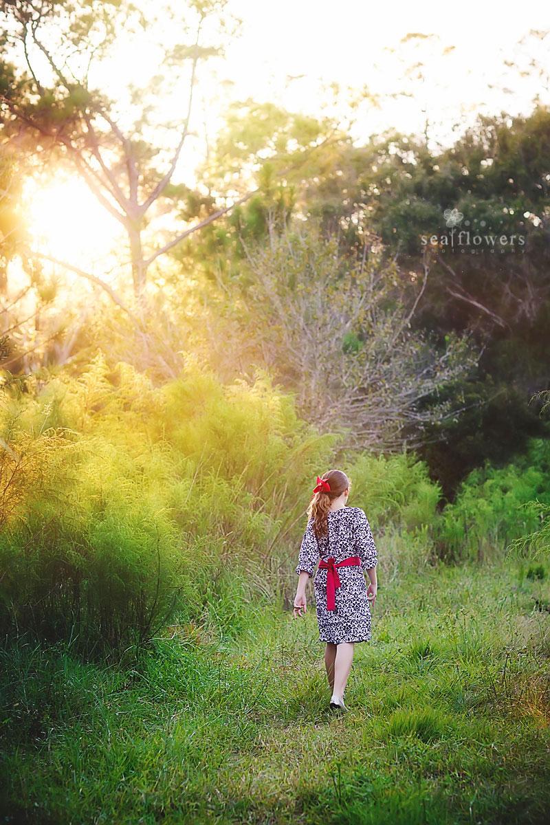 Jupiter Florida Woods Child Photography