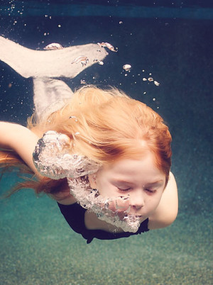 Sea Flowers Photography - Undewater Child Photography - Jupiter South Florida