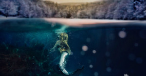 Jupiter Palm Beach Underwater Photography - Mermaid Fantasy - Ikelite