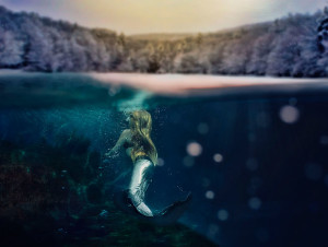 Underwater Child Photography - Sea Flowers Photography - Jupiter Florida Child Fantasy Mermaid Underwater Photography