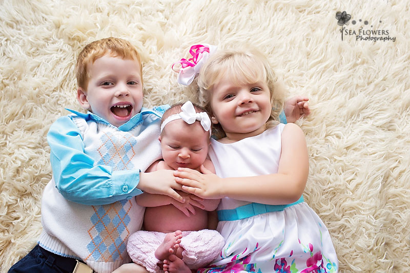 Jupiter Florida Palm Beach Newborn Sibling Family Child Photography