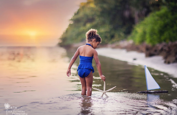 Jupiter Florida Child Photography - Sea Flowers Photography Maternity, Newborn, Child, and Family Photographer - Beach Photography - Salt Life
