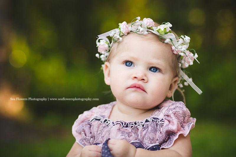 Jupiter Florida Fantasy Photography - Princess in the Pea - Jupiter Child Photography