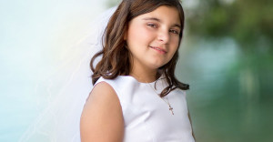 First Communion - Jupiter Beach Photography - Sea Flowres Photography Children Family Photography