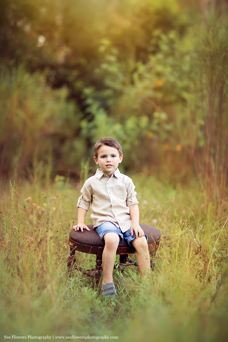 Jupiter, Palm Beach Florida Woods Family Photography - Sea flowers Photography