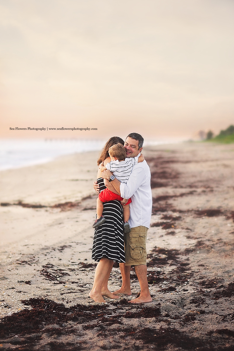 Jupiter Tequesta Palm Beach Family Beach Photography - Sea flowers Photography