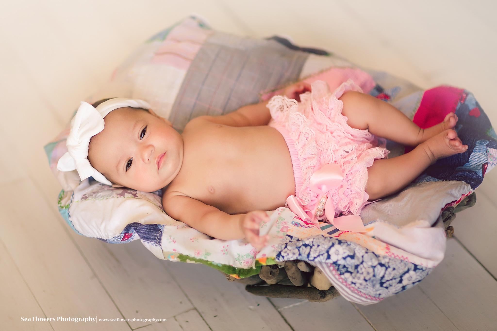 Jupiter Florida 3 month Baby Photography - Palm Beach Child Photographer