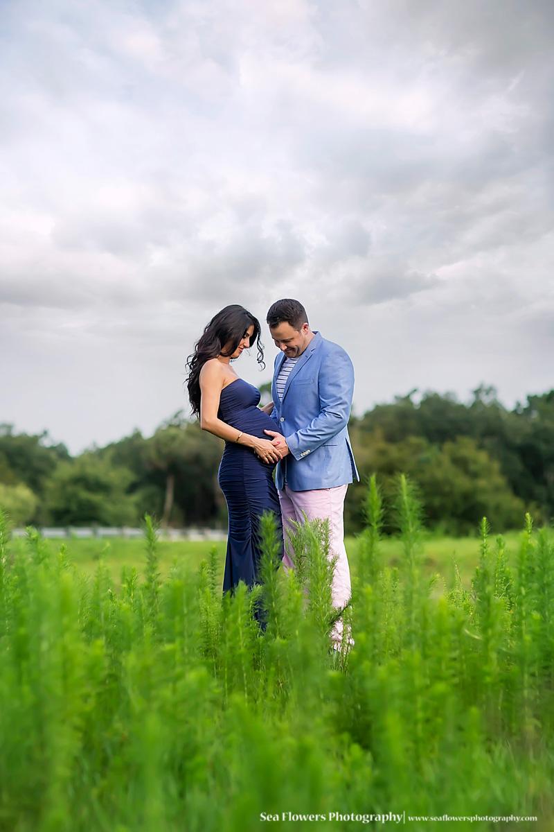 Jupiter Florida Maternity Photography - Horse Photography - Palm Beach Maternity Photographer