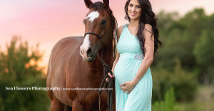 Sea Flowers Photography Jupiter Florida Maternity Photography - Horse Photography - Palm Beach Maternity Photographer