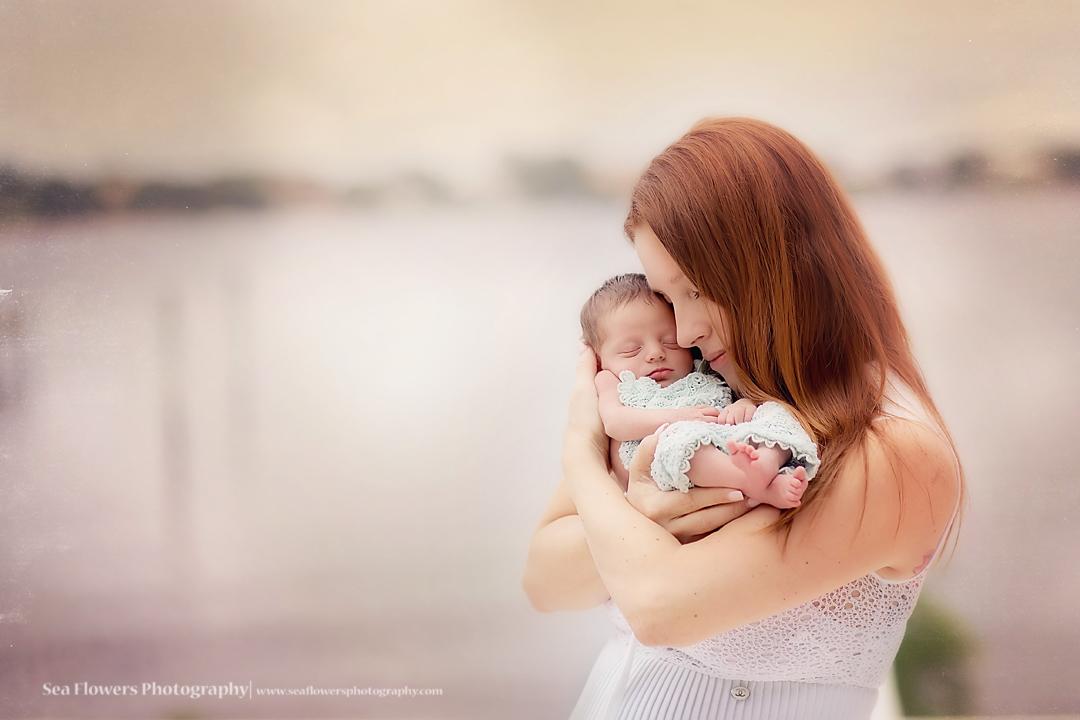 Sea Flowers Photography Jupiter Florida Newborn Twin Photography - Palm Beach Newborn Twin Photography - West Palm Family Photography
