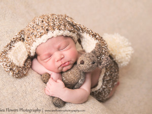 Jupiter Newborn Photographer - Sea Flowers Photography
