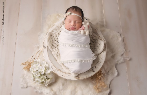 Girl Newborn Photography Jupiter Florida