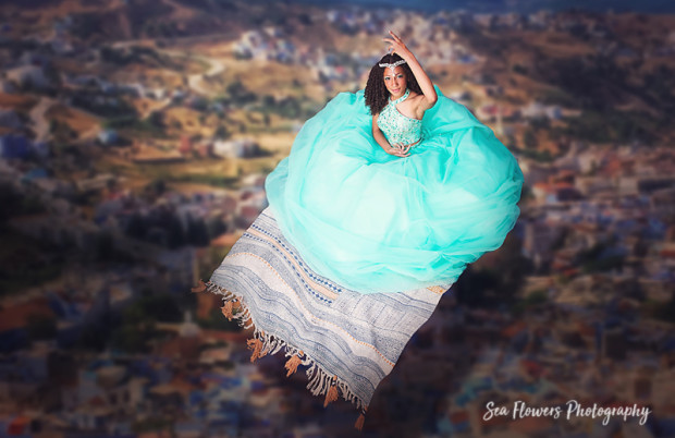 Jupiter Quinceanera Photographer - Alladin Fantasy Photography - Sea Flowers Photography