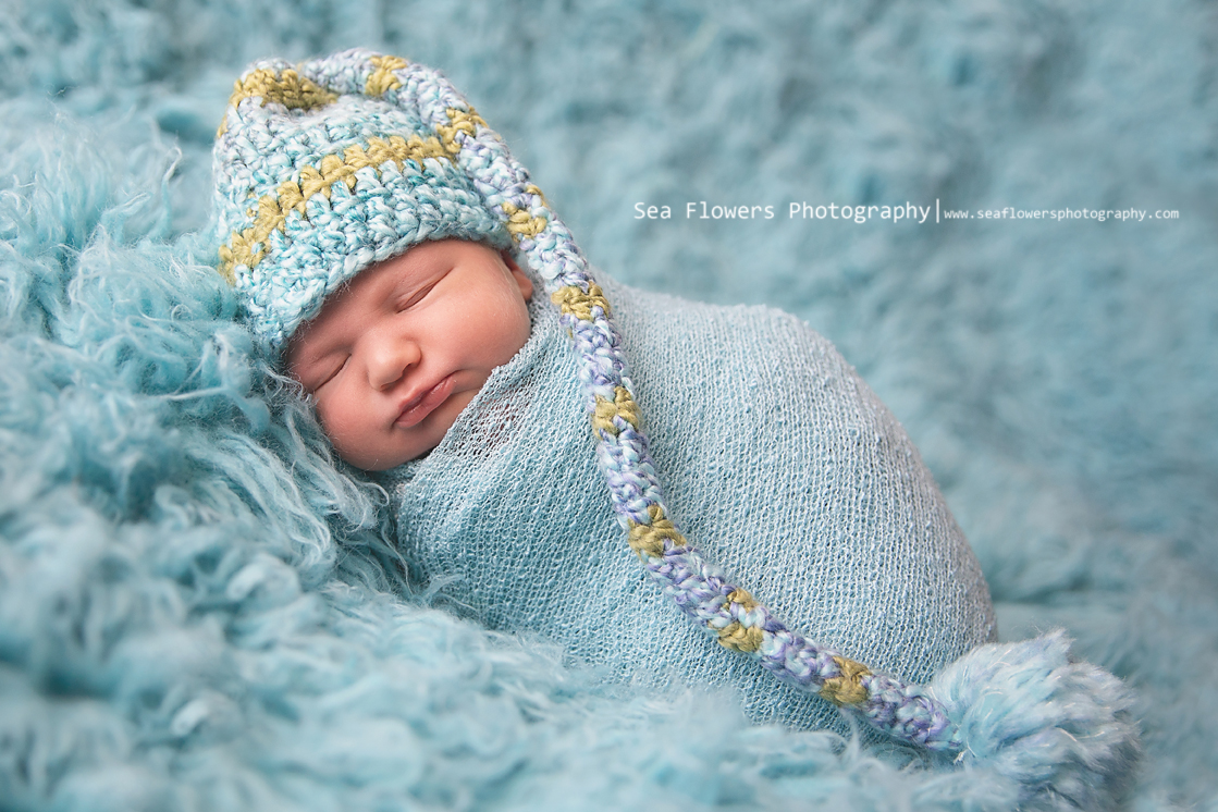 Jupiter Florida Newborn Photographer - Sea Flowers Photography - Baby Boy Photo (82)
