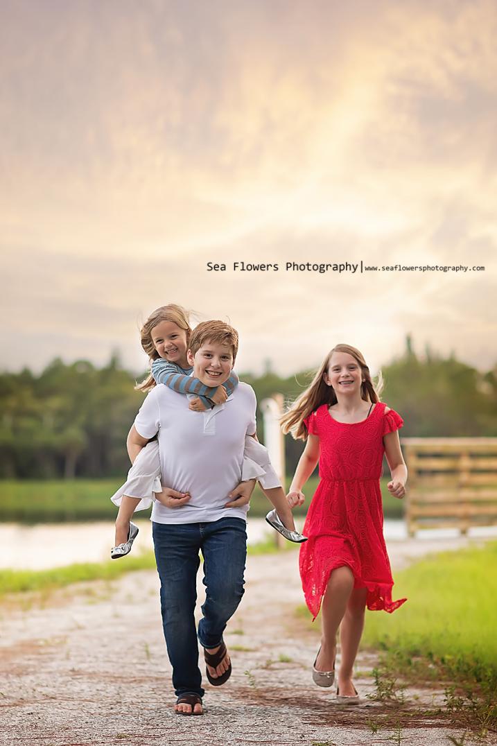Jupiter Florida Woods Family Photographer Sea Flowers Photography