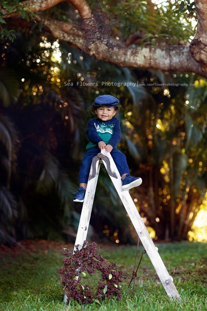 Jupiter Farms Christmas Mini Photographer - Palm Beach Child Photography