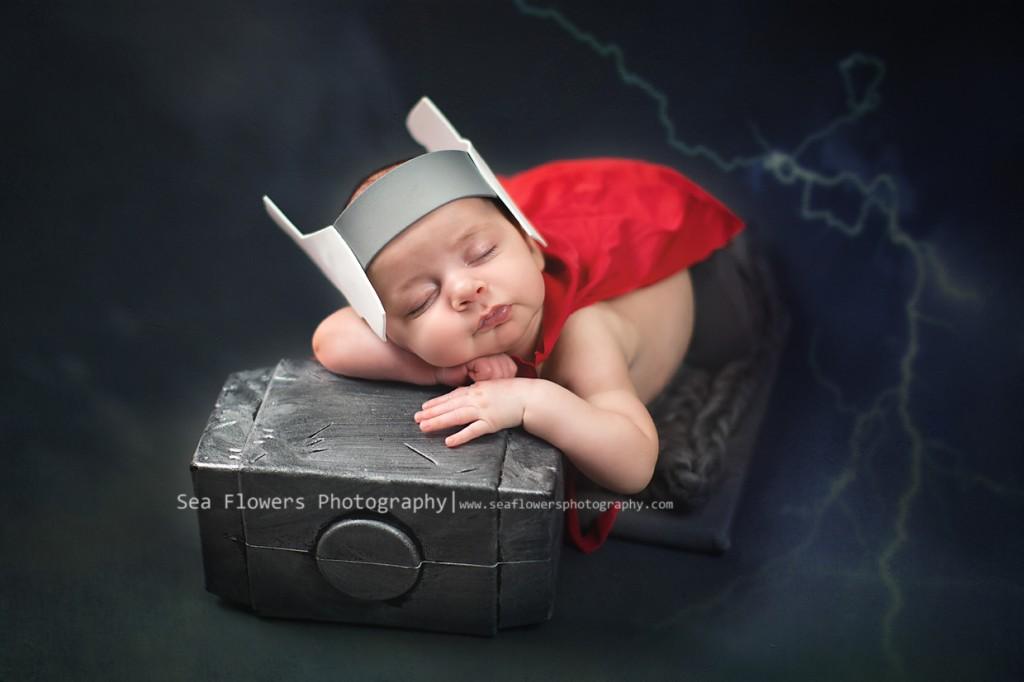 Thor Newborn Photography - Child Photographer - Jupiter